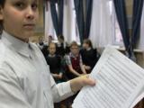 Репетиция рождественской оперы
